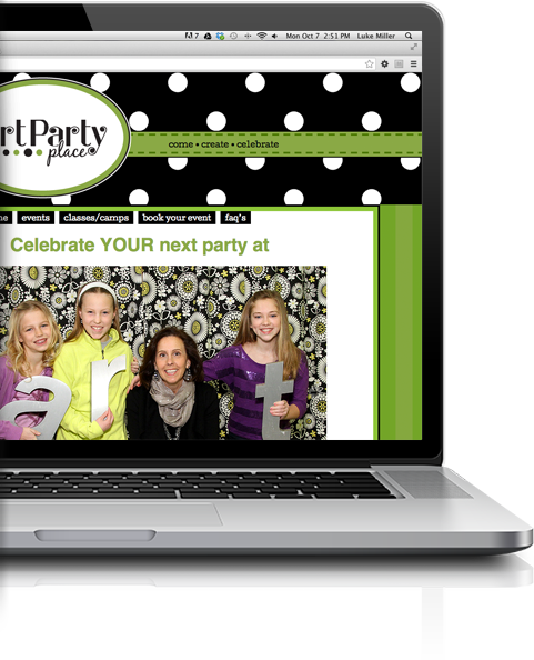 Party Website Design Madison WI
